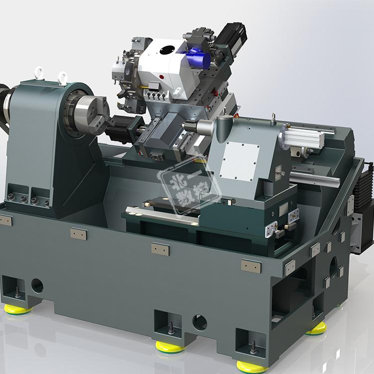 TCK50斜轨数控车床